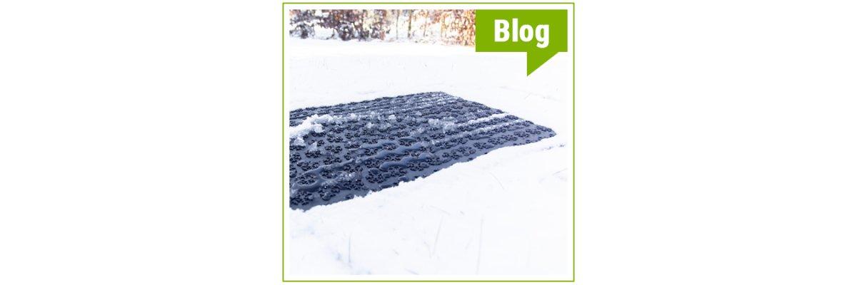 Snow Melting Heizmatten - Unsere neuen Outdoor Heizmatten sind da. Sicher auf allen Wegen! - Snow Meltin Heizmatte