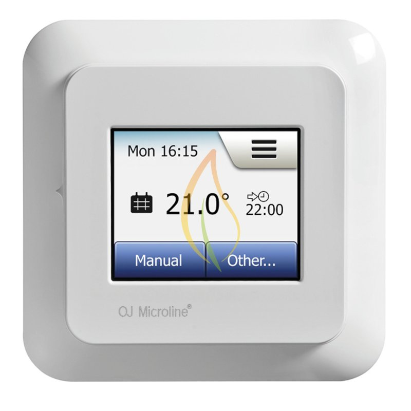 digitales touchscreen thermostat ocd5 your specialist for infrared underfloor heating. Black Bedroom Furniture Sets. Home Design Ideas