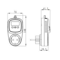 Steckdosenthermostat TC500