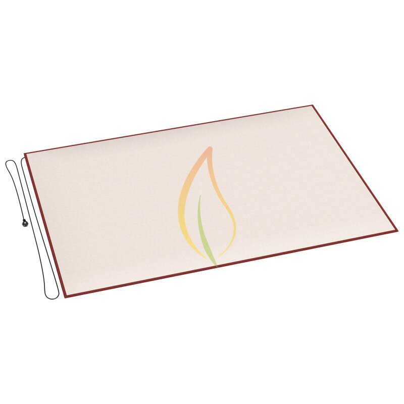 teppichheizung eine mobile elektrische fu bodenheizung infrarot fu bodenh. Black Bedroom Furniture Sets. Home Design Ideas