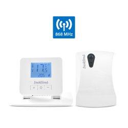 SAS918RF Funk Digital Thermostat Vorderansicht