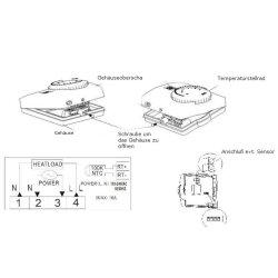 SAS816 Wall Mounted Thermostat