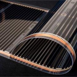 Comfort heating film 80Watt/m² 50cm wide kit