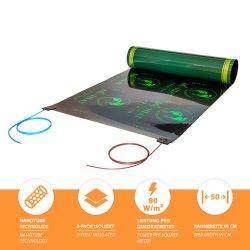 Carbon Heizfolie Premium für schwimmende verlegung unter...
