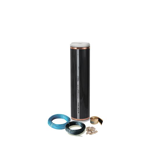 Comfort heating film 100Watt/m² 50cm wide kit