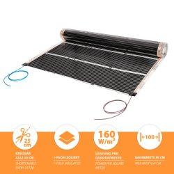 Comfort heating film 160Watt/m² 100cm wide...