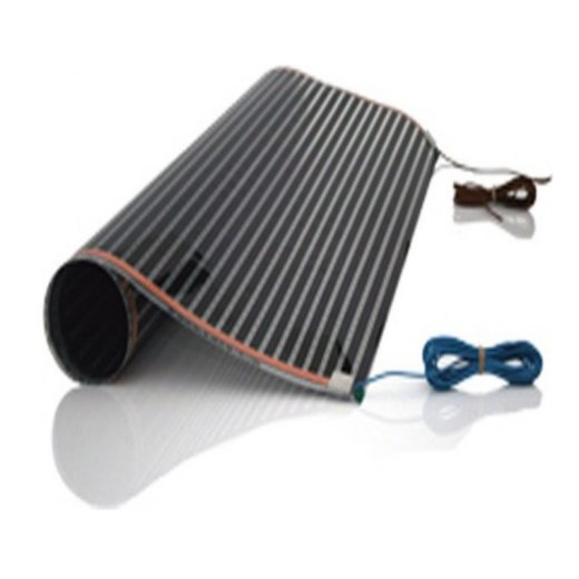 Comfort heating film 220Watt/m² 100cm wide completely assembled