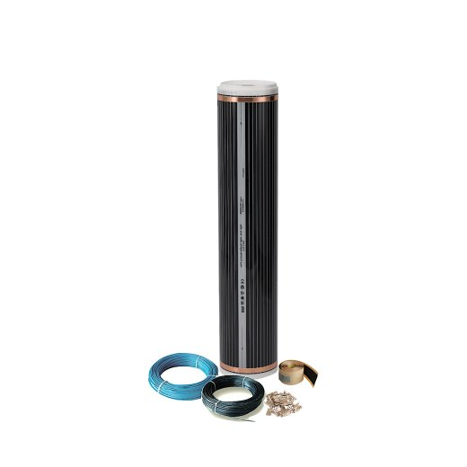 Comfort heating film 130Watt/m² 100cm wide kit