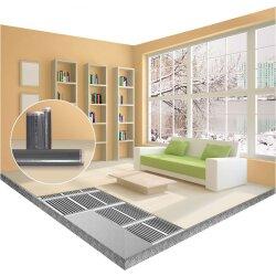 Comfort heating film 130Watt/m² 100cm wide kit