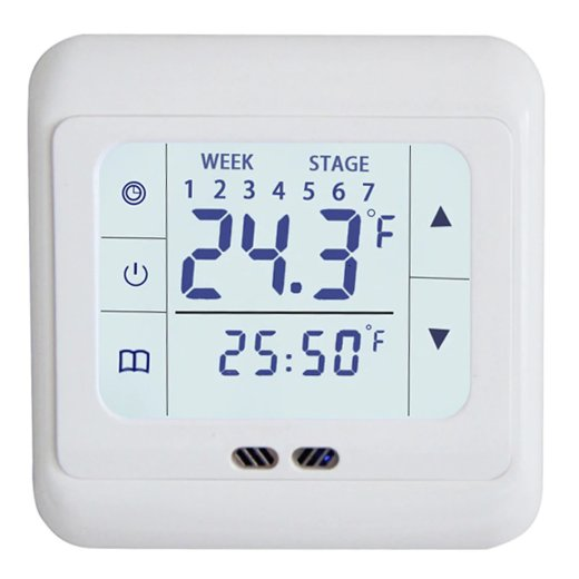 H3 Touchscreen Thermostat Front View