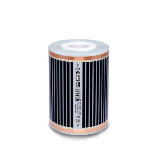 Comfort Heizfolie 220Watt/m² 25cm breit konfektioniert