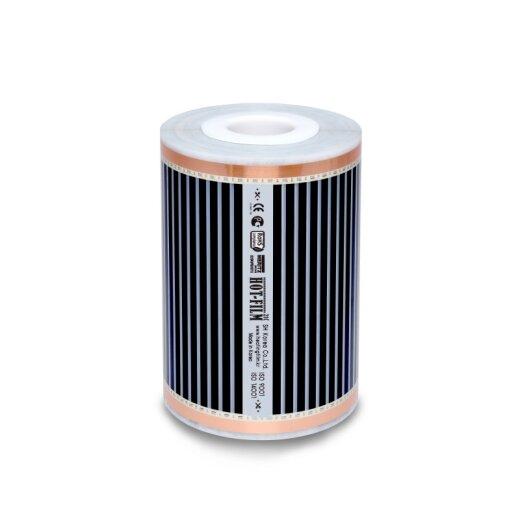 Comfort Heating Film 220Watt/m² 30cm wide completely assembled 4m