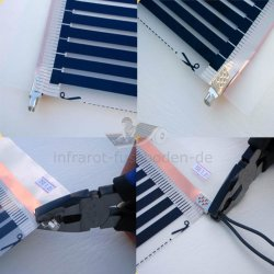 Crimp Connector 1p. for Infrared Heating Film