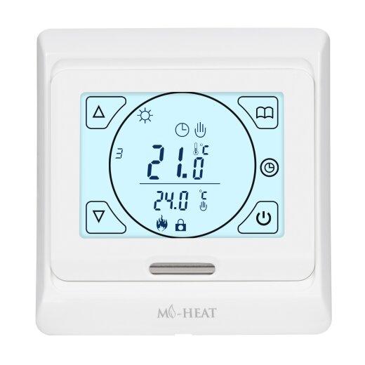 E91 Digital Thermostat Vorderansicht