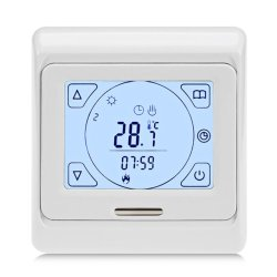 E91 Digital Thermostat Front View