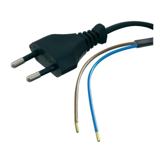 Power Cable with Open End 1.5m