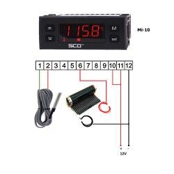 Mi-10 Einbau Thermostat 12V