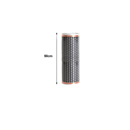 12V Heating Film 50cm wide 130W/m²