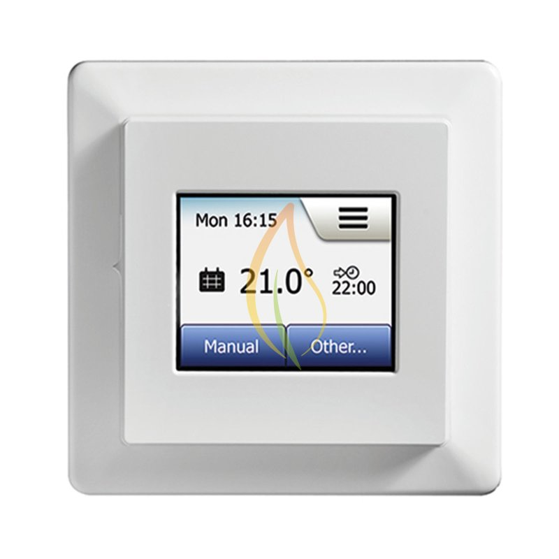 mcd5 touch thermostat your specialist for infrared underfloor heating. Black Bedroom Furniture Sets. Home Design Ideas