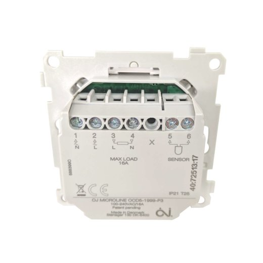 MCD5 Room Thermostat Back View