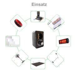 Zwischenstecker-Dimmer 3000Watt