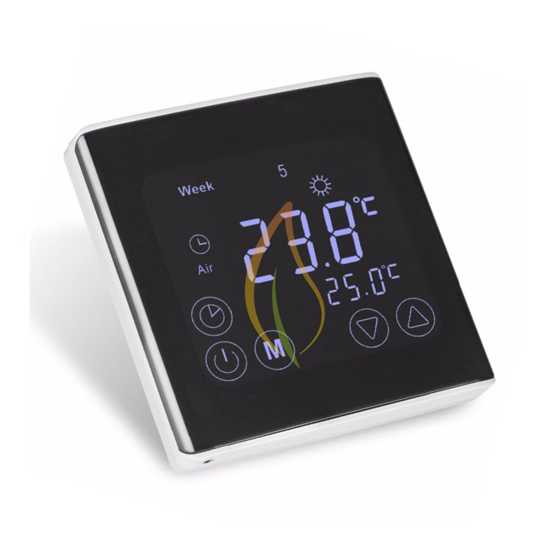 touchscreen thermostat c17 infrarot fu bodenheizung mi heat elektrische. Black Bedroom Furniture Sets. Home Design Ideas