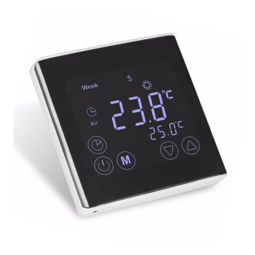 C17 Touchscreen Thermostat Front View