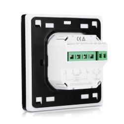 C17 Touchscreen Thermostat Vorderansicht