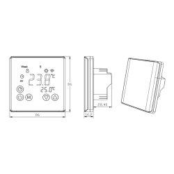 C17 Digital Touchscreen Thermostat