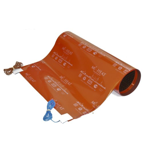 Color Heating Film 130Watt/m² assembled 50cm wide