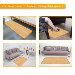 Carbon Feet PVC Infrarot Heizmatte