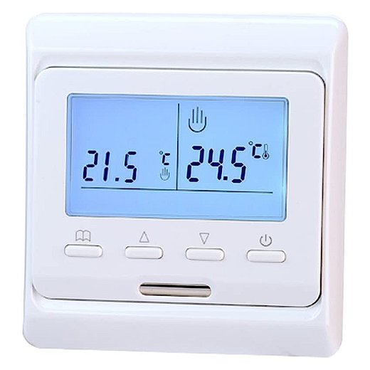 E51 Digital Thermostat Vorderansicht