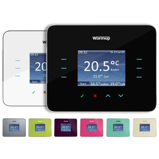 warmup 3iE Digital Thermostat Front View
