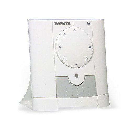 Watts Vision Remote Control Analog Thermostat + Flush-mounted Receiver