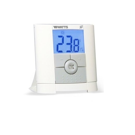 Watts Vision Digital Remote Control Thermostat + Wall-mounted Receiver