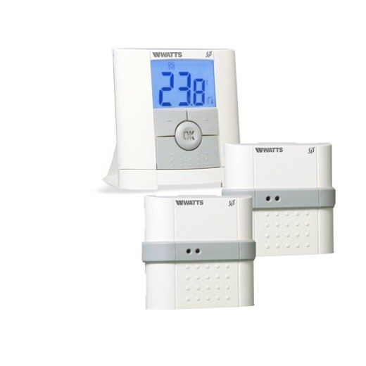 Watts Vision Digital Remote Control Thermostat + Flush-mounted Receiver