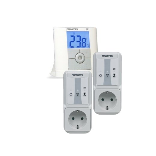 Watts Vision Digital Remote Control Thermostat + Socket Receiver