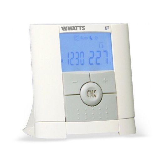 Watts Vision Digital Programmable Thermostat + Wall Mount Receiver