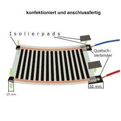 12V Heating Film 30cm wide 130W/m²