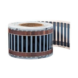 Comfort 650Watt/m² 13cm wide heating film completely...