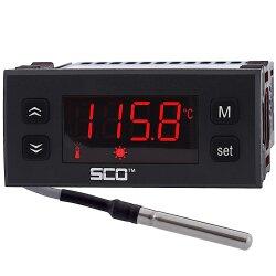 Mi10 Unterputz Thermostatregler schwarz
