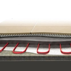 Twin Heating Cable for Screed 17W/m 42,0m
