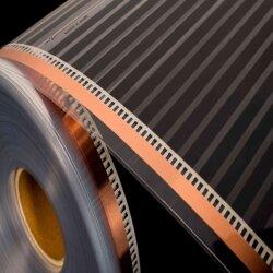 Mi-Heat Comfort Heating Film als Rollenware mit Zubehör.