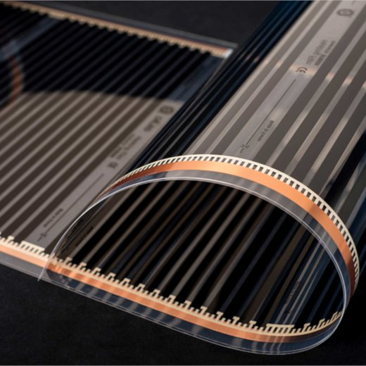 Infrared Heating Film 400Watt/m² 50cm 1-6m