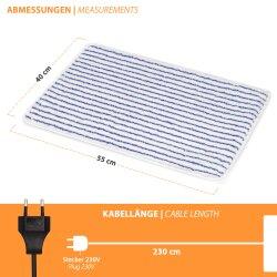 230V Heated Carpet Bathroom