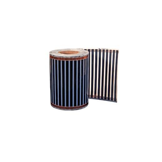 Comfort heating film 200Watt/m² 20cm wide completely assembled