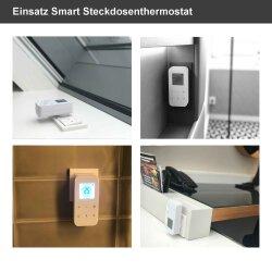 Steckdosenthermostat mit WLAN - Smart Plug