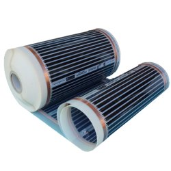 Heating Film 500Watt/m² 50cm wide