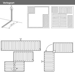 ALU Heizmatte 80Watt/m² 5,0m² 0,5x10,00m