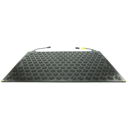 heated mat for ice-free entry and arrival